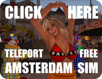 Teleport FREE to Amsterdam Sim